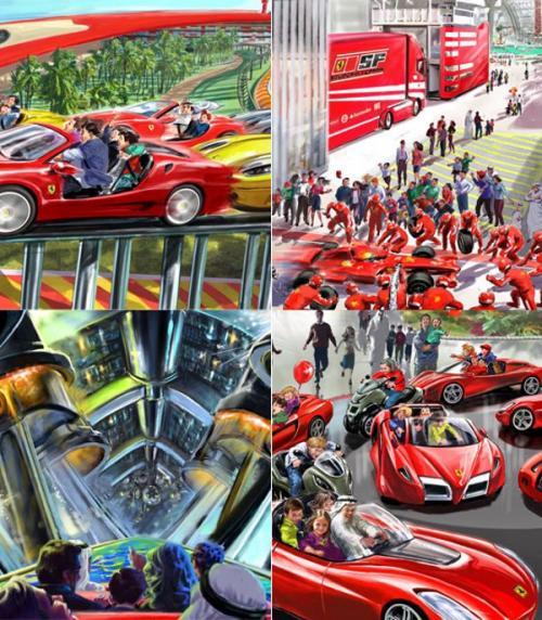 Il nuovo Ferrari World a Tarragona